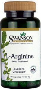 L-Arginine 100caps - 500mg