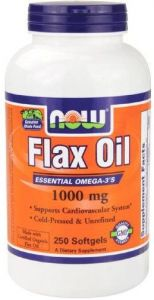 Flax Oil (1000mg) - 250 sofgels