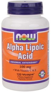 Alpha Lipoic Acid (100 mg) - 120 caps