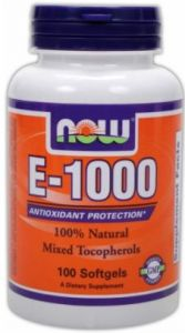 E-1000 Mixed Tocopherols - 100 капсули