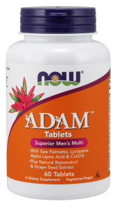NOW ADAM Mens Multiple Vitamin 60 Tabs.
