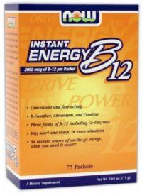 Instant Energy B12 75 pckts