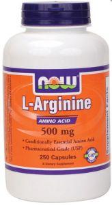 L-Arginine (500 mg) 250 caps