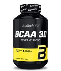 BCAA 3D - 180 caps