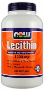 Lecitin 1200 mg ( triple Strength ) 200 sgels