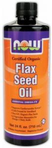 Organic Flax Seed Oil (100% Pure) 12 fl.oz