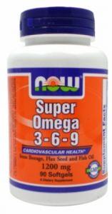 Super Omega 3-6-9 (1200mg) 90 softgels