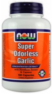 Super Odorless Garlic 180 caps