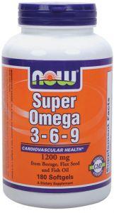Super Omega 3-6-9 (1200mg) 180 sgels