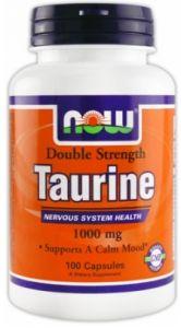 Taurine Double Strength (1000mg) 100 caps