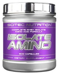 ISOLATE AMINO - 500 капсули, 45 лв