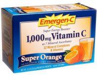 Emergen- Vitamin C Super Orange - 36 pckts