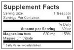 Magnesium Citrate Powder 8 oz