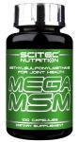 MEGA MSM - 100 капсули 30 лв
