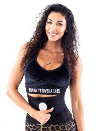 "Спортен колан Maskateer - ""Biliana Yotovska black limited edition!"""